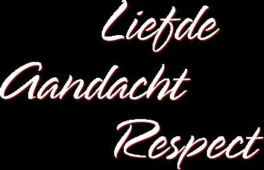 liefde aandacht respect